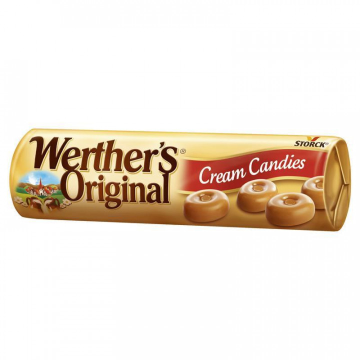 WERTHER'S ORIGINAL CREAM CANDIES 50GR (PACK OF 24)
