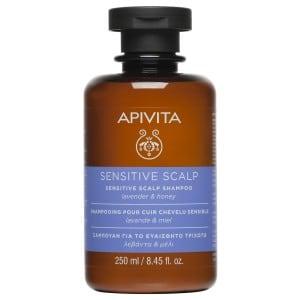 Apivita Sensitive Scalp Propoline Shampoo with Lavender and Honey - 250ml
