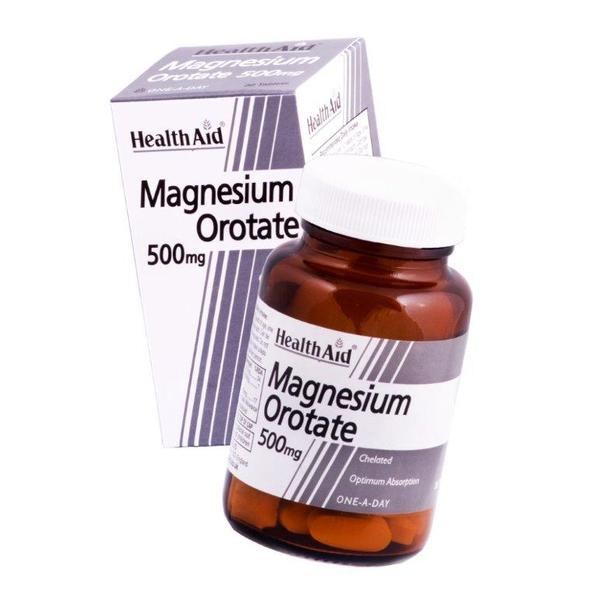 Health Aid Magnesium 500mg - 30 Tablets