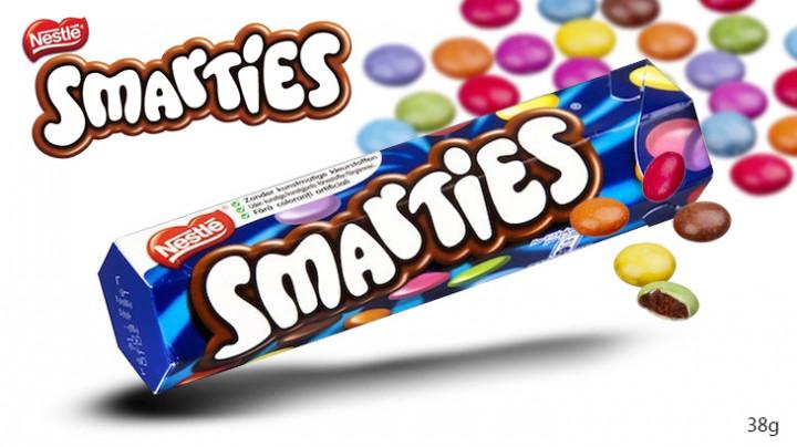 SMARTIES small hexatubes - 38 GR