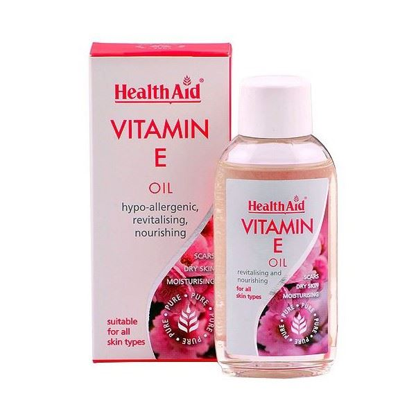 Health Aid Vitamin E 100% Pure Oil - 50ml