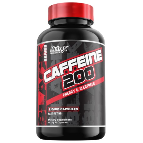 Nutrex Caffeine 200 mg 60 Caps