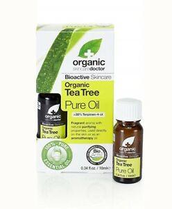 DR ORGANIC TEA TREE PURE OIL 10ML