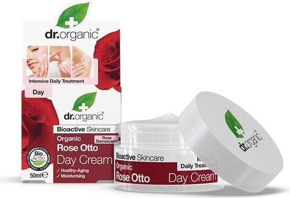 DR ORGANIC ROSE ROSE DAY CREAM 50ml