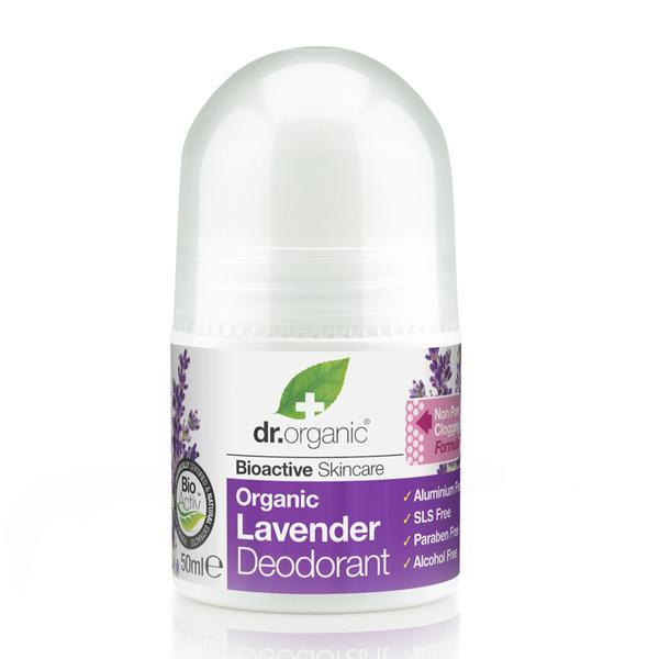 DR ORGANIC LAVENDER LAVENDER DEODORANT 50ML