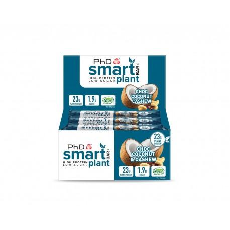 Smart Bar Plant - 12 x 64 g - Choc Peanut Caramel