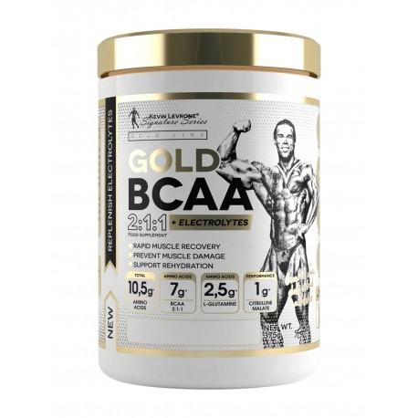 Kevin Levrone GOLD BCAA 2:1:1 + Electrolytes 375 g - 30 Servings - Orange