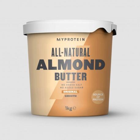 MyProtein Natural Almond Butter 1 Kg - Crunchy