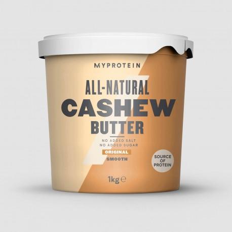 MyProtein Natural Cashew Butter 1 Kg - Crunchy
