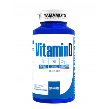 Yamamoto® Nutrition Vitamin D 90 Caps
