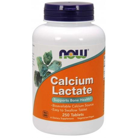 Now Calcium Lactate 250 Tabs