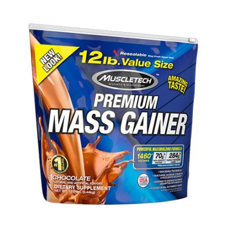 MuscleTech Premium Mass Gainer 12 lbs - Strawberry