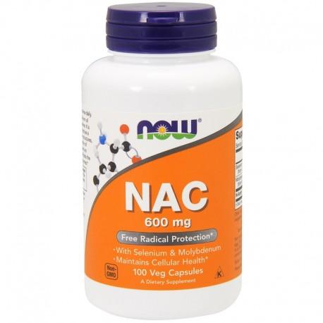 Now Foods NAC 600 mg - 100 Veg Caps