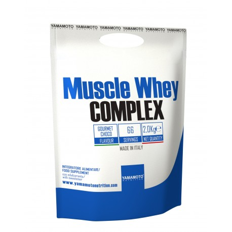 YAMAMOTO NUTRITION Muscle Whey COMPLEX 2000 g - Chocolate