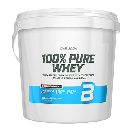 Biotech USA 100% Pure Whey 4000 g - Chocolate