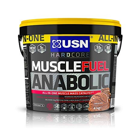 USN Muscle Fuel Anabolic 4 Kgs - Strawberry