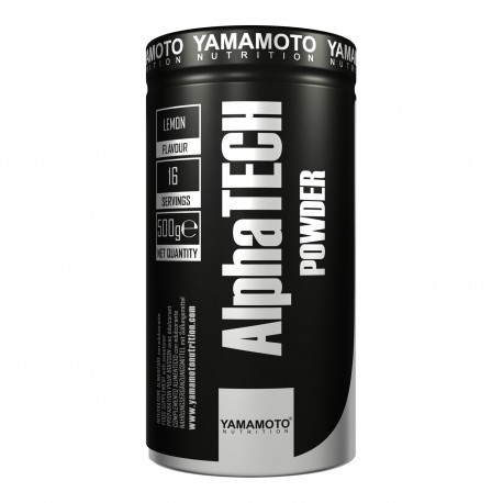 Yamamoto Nutrition AlphaTECH Powder 500 g - Lemon