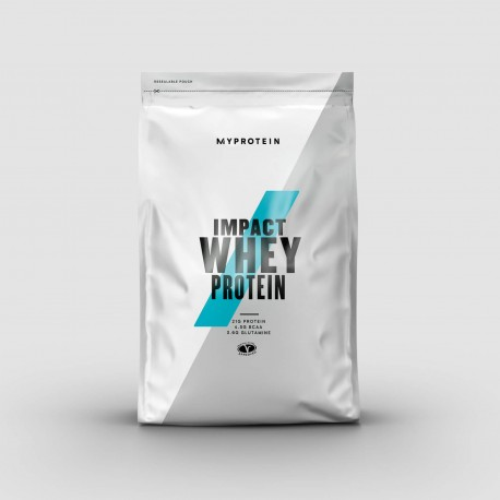 MyProtein Impact Whey Protein 2,5 Kg - 100 Servings - Unflavoured