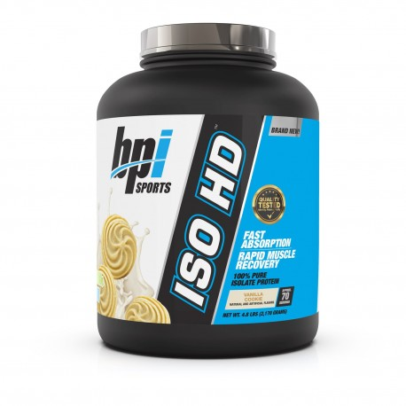 BPI Sports Isolate ISO HD 2.28 Kg - 70 Servings - Vanilla Swirl