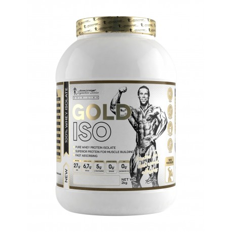 Kevin Levrone 2 Kgs Gold Iso - 66 Servings - Chocolate