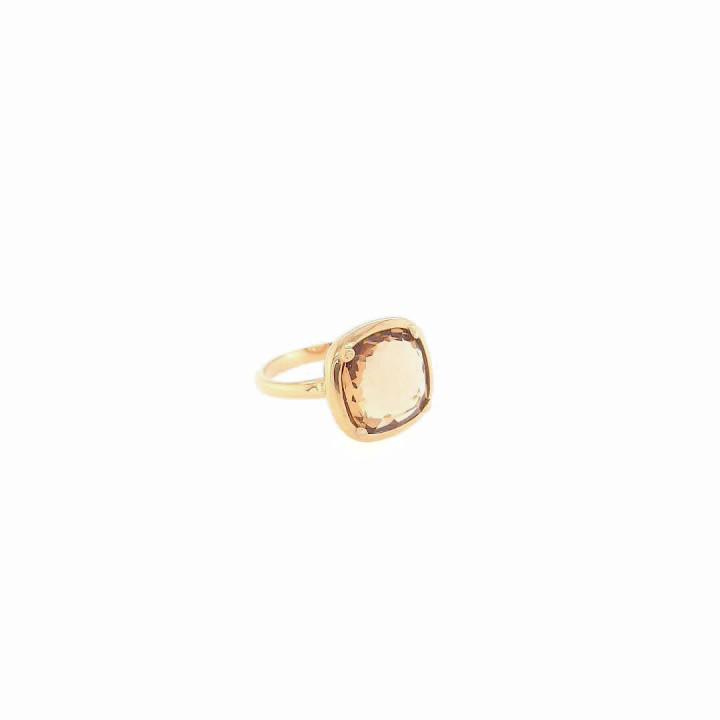 Silver Goldplated Ring - Size 15.5