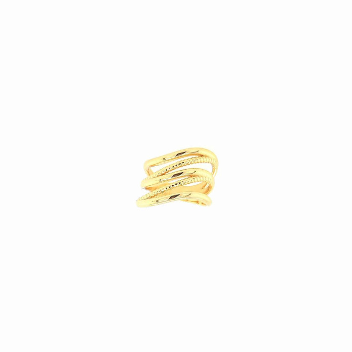 Silver Goldplated Ring - Size 14