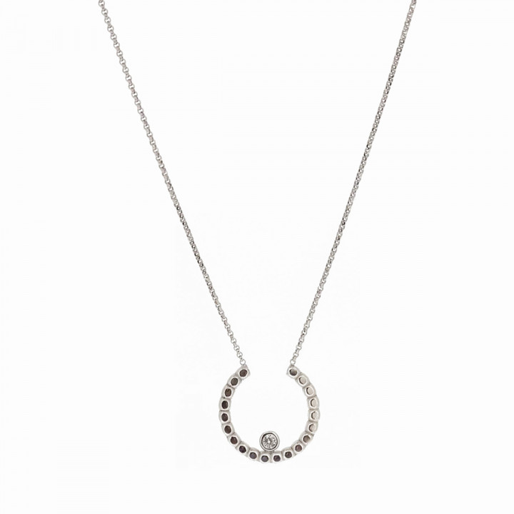 Silver Whiteplated Necklace