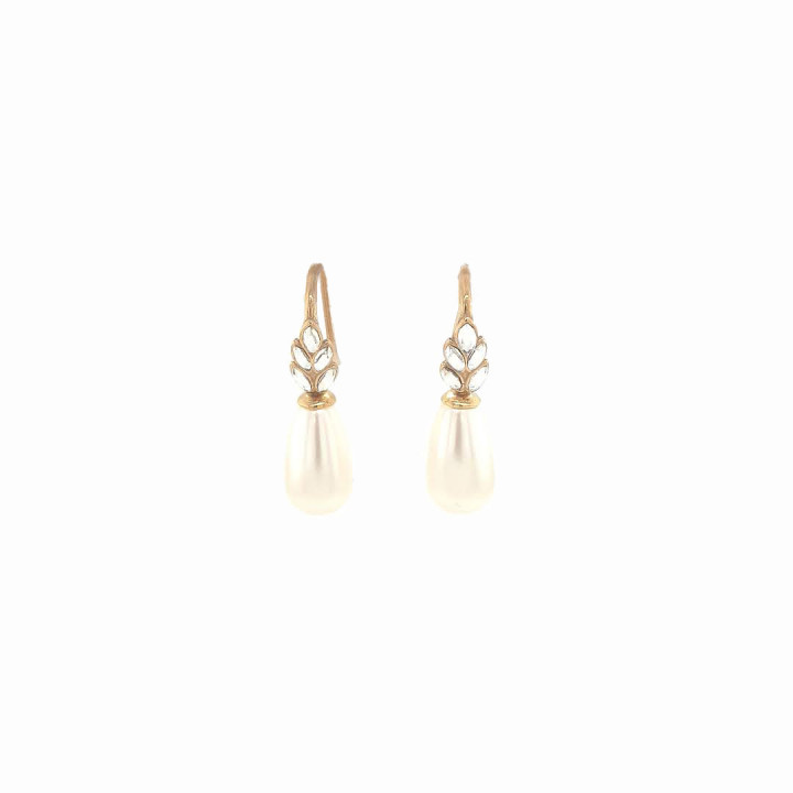 Silver Goldplated Earrings
