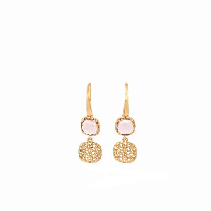Silver Goldplated Earrings