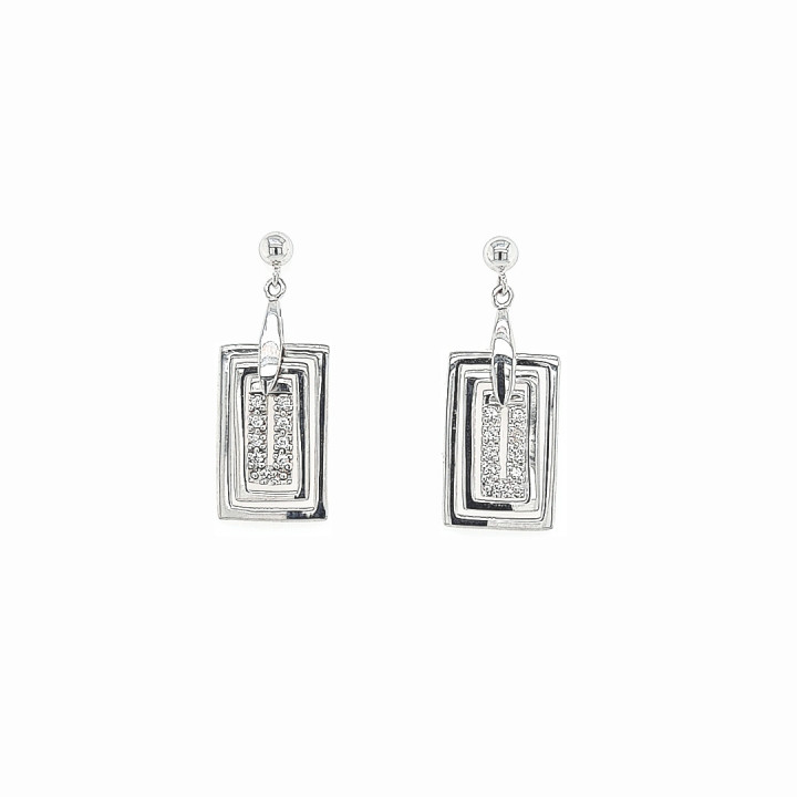 Silver Whiteplated Earrings