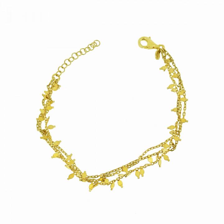 Silver Goldplated Bracelet