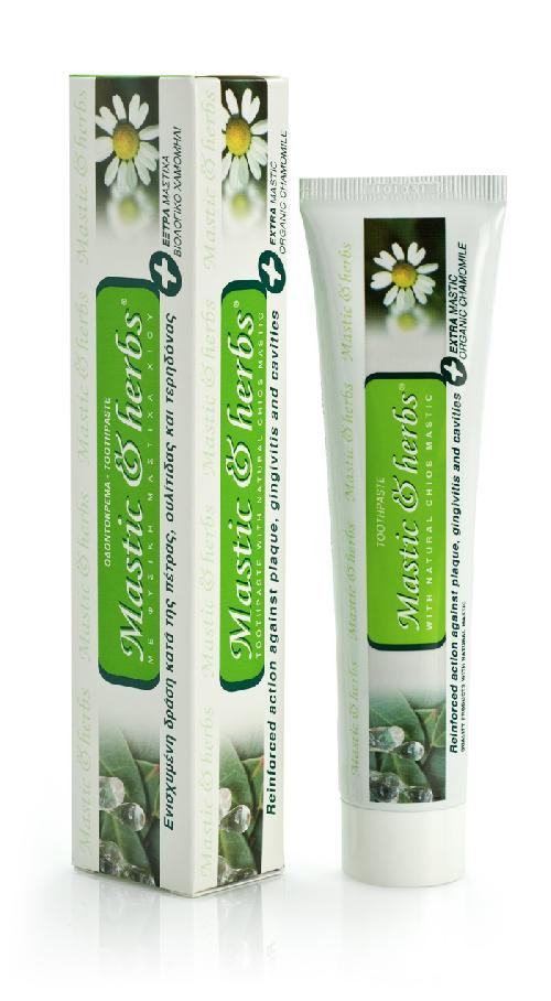 Mastic & herbs with mastic and Bio camomile Toothpaste 75ml