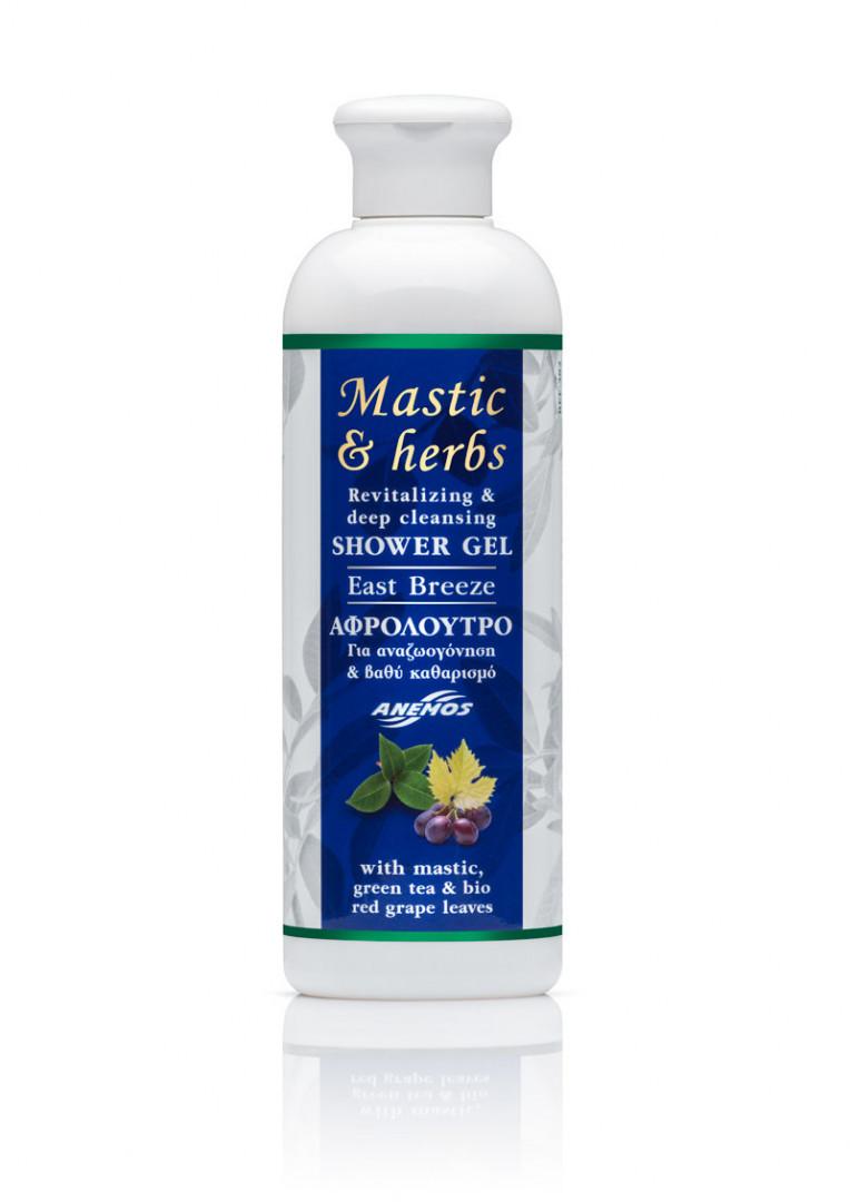 "Mastic & herbs ""East Breeze"" Shower gel 300ml"
