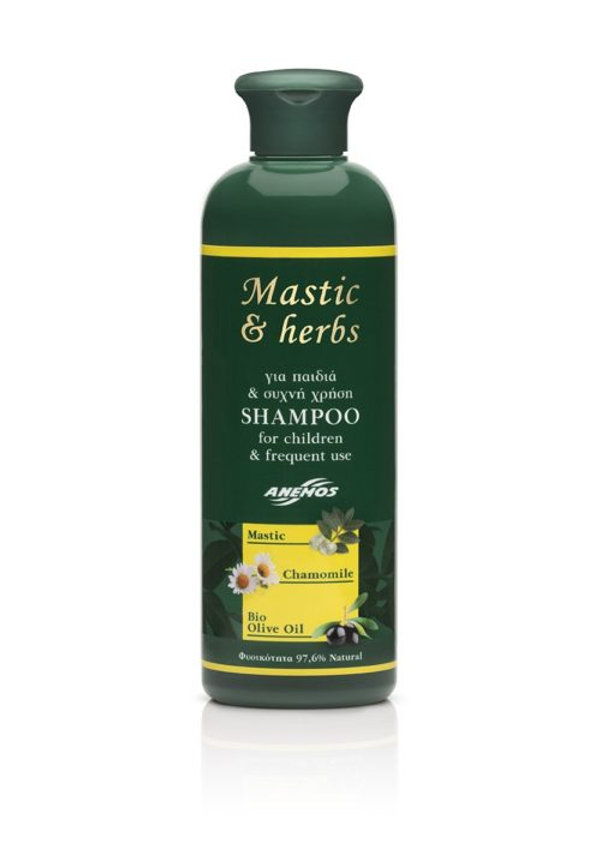 Mastic & herbs for Children & Frequent use Shampoo 300ml