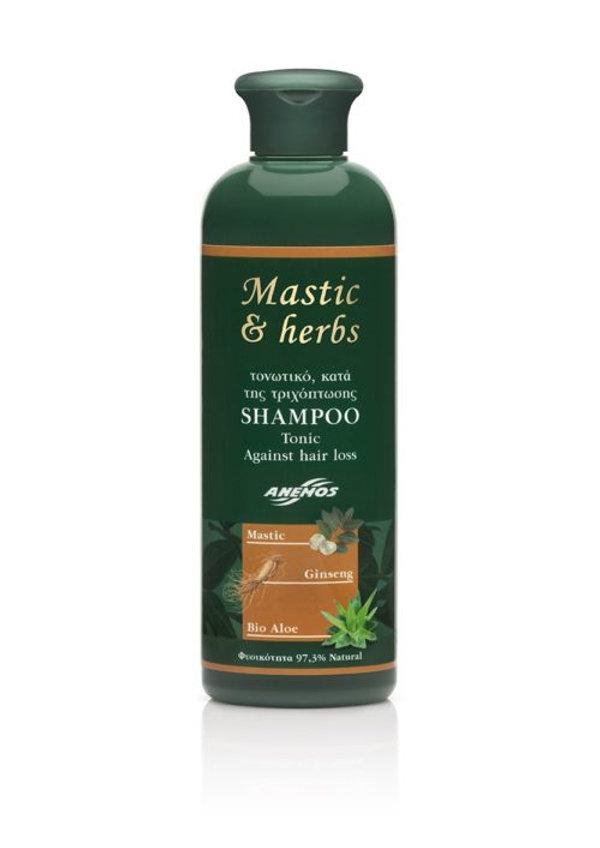 Mastic & herbs Tonic, against hair loss Shampoo 300ml