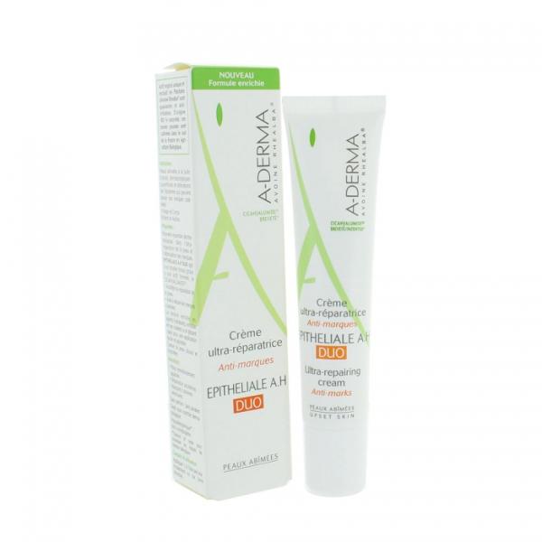 A-DERMA EPITHELIALE A. H DUO - Ultra repairing cream Anti-Marks 40ml