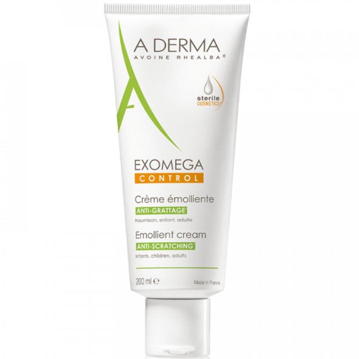 A-DERMA EXOMEGA CONTROL Emollient Cream ANTI-SCRATCHING 200ml