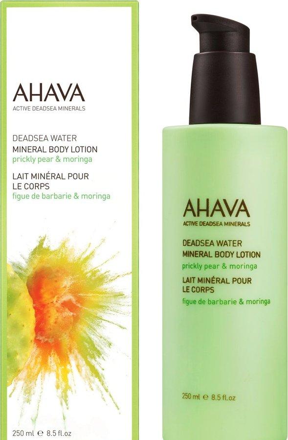 AHAVA DEADSEA WATER MINERAL BODY LOTION PRICKLY PEAR & MORINGA 250ML