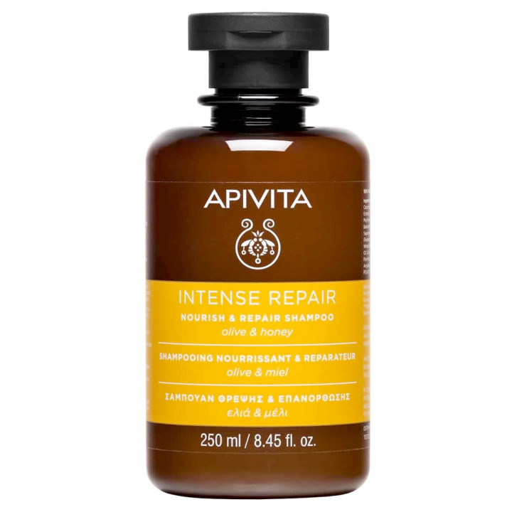 APIVITA NOURISH & REPAIR SHAMPOO olive & honey 250ml