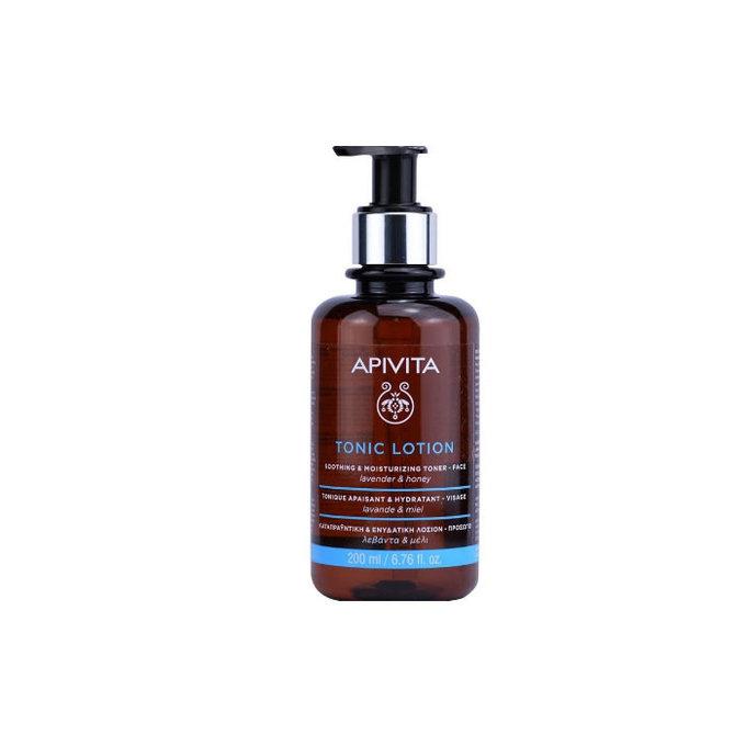 APIVITA TONIC LOTION SOOTHING & MOISTURIZING TONER lavender &honey 200ml