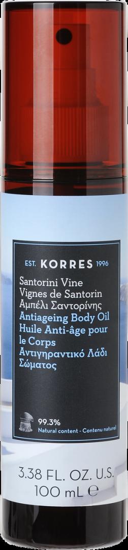 KORRES ANTIAGEING BODY OIL SANTORINI VINE 100ml