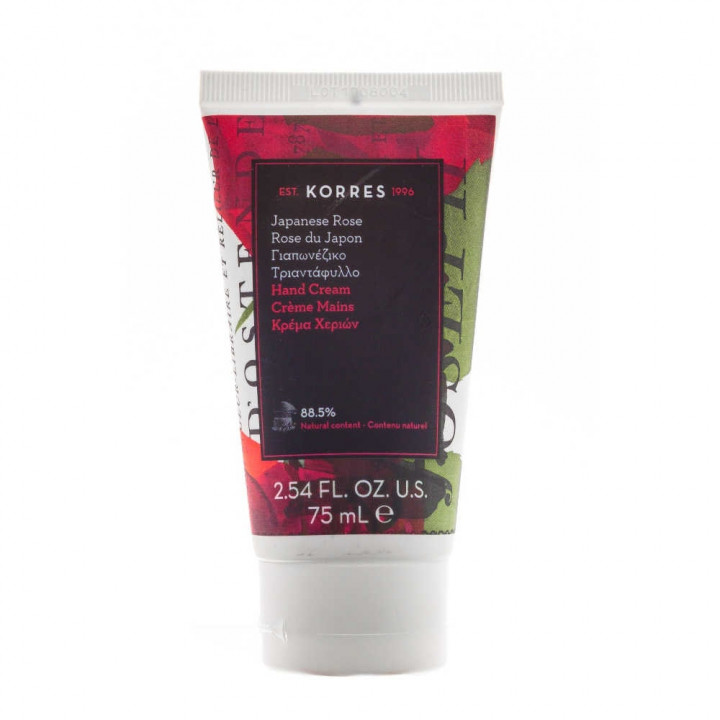 KORRES HAND CREAM WITH JAPANESE ROSE 75ML