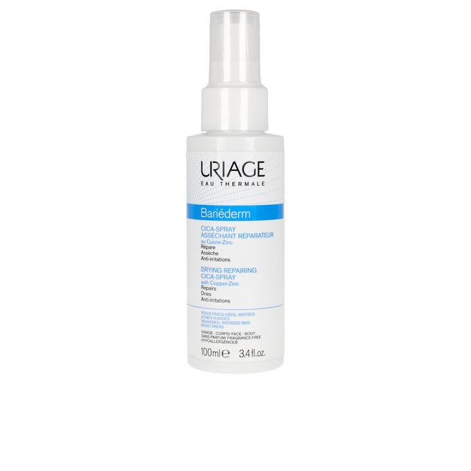 URIAGE BARIEDERM DRYING REPAIRING CICA SPRAY with copper zinc 100ml