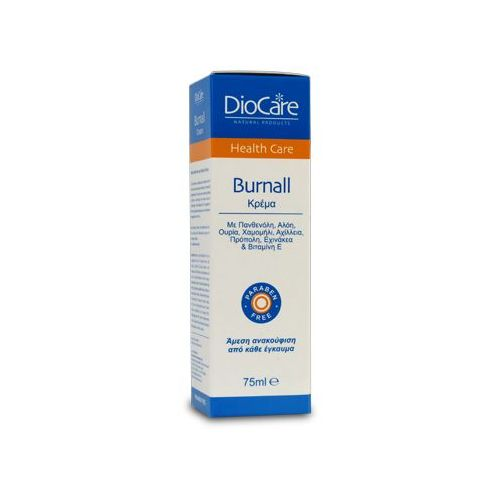 DIOCARE BURNALL CREAM fast relief from any kinds of burns 75ml
