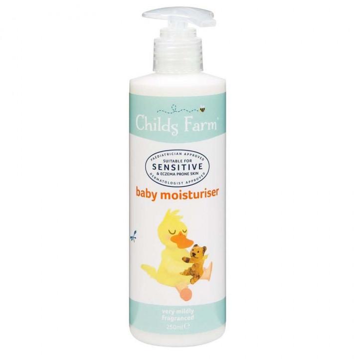 CHILDS FARM baby moisturiser very mildly fragranced 250ml
