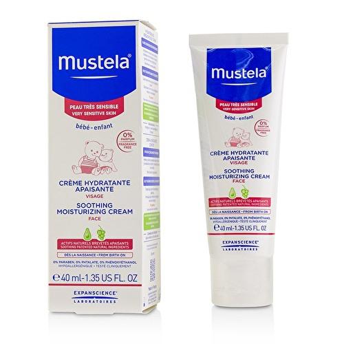MUSTELA SOOTHING MOISTURIZING CREAM face 40ml