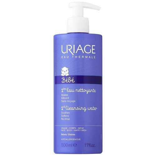 URIAGE 1st Cleanising Water soothes,softens no-rinse 500ml