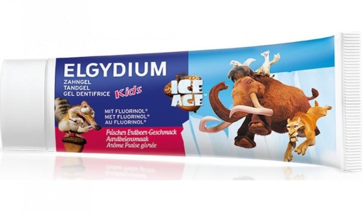Elgydium Kids Ice Age Strawberry Toothpaste 50ml