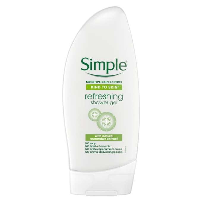 SIMPLE Refreshing Shower gel 250ml