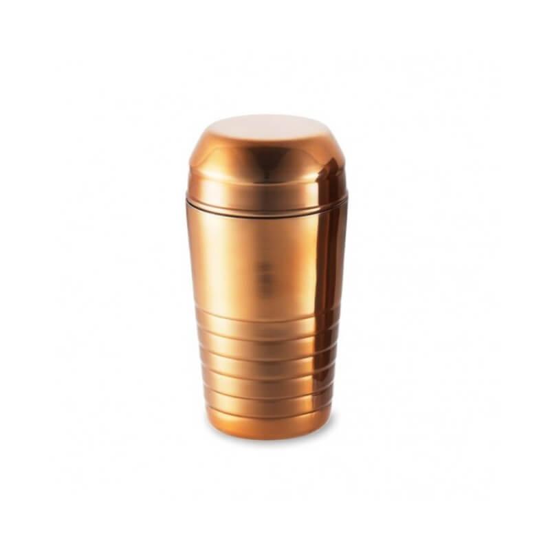Shaker with with INOX Sieve - Bronze 600ML